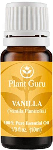 Aceite esencial de vainilla. 10 ml. 100% puro, sin diluir, terapéuticas grado.