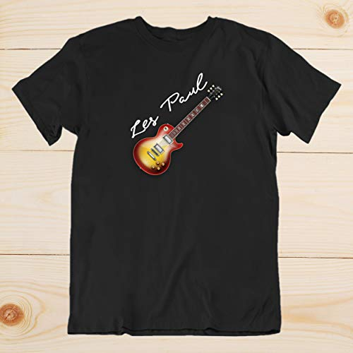 (Electric Guitar Gibson T Shirt Les Paul 50s 60s Classic Jazz Blues Country Tribute Music Gift T-Shirts For Men and Women )
