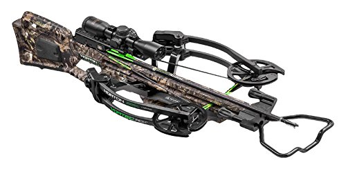 - HORTON CROSSBOW INNOVATIONS Vortec RDX Crossbow Package with Pro-View 2 Scope, Quiver, Arrows and Rope Cocking Device (NH17060-5524)