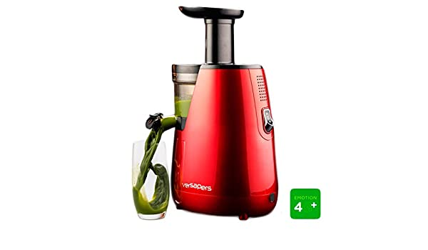 Extractor de zumo Versapers 4G Plus ROJO: Amazon.es: Hogar