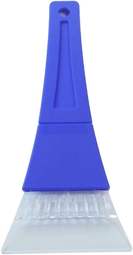 23.5X11/×1cm Azul Chytaii Raspador de Hielo para Cristal Coche rasqueta de Nieve Invierno rascador rasqueta de pl/ástico con Mango