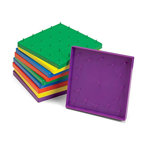 ETA hand2mind Double-Sided Geoboards (Set of 10)