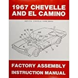 1967 Chevelle El Camino Assembly Manual (with Decal)