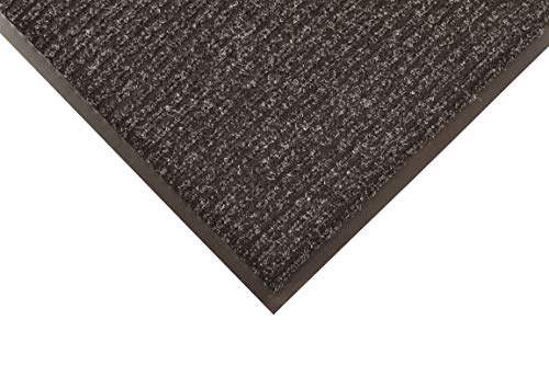 Notrax 109 Brush Step Entrance Mat, For Home or Office, 3' X 10' Charcoal ()