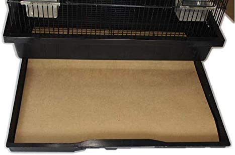BirdCageLiners - Small Cages -Pick-Your-Size - 150 Pre-Cut Sheets - 12.5 x 13.25 - (165 Ft. 40 Pound Paper)