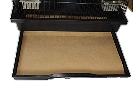 Bird Cage Liners - Small Cages - Pick-Your-Size - 150 Count - 40 Pound Paper / No Wax BirdCageLiners
