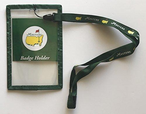 Masters golf ticket badge holder lanyard augusta national 2019 Masters pga