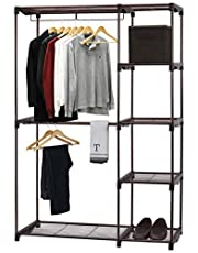 SimpleHouseware Freestanding Clothes Garment Organizer Closet