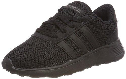 adidas Lite Racer K, Zapatillas de Gimnasia Unisex Niños Negro (Negbas/Negbas/Neguti 000)