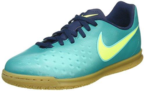 Nike 844423-375, Botas de Fútbol Unisex Adulto Azul (Rio Teal / Volt / Obsidian / Clear Jade)