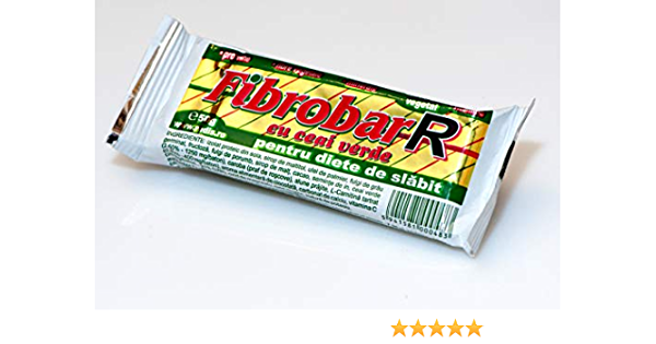 Fibrobar R con té verde - Barra de proteína - Paquete de 30 barras | por REDIS