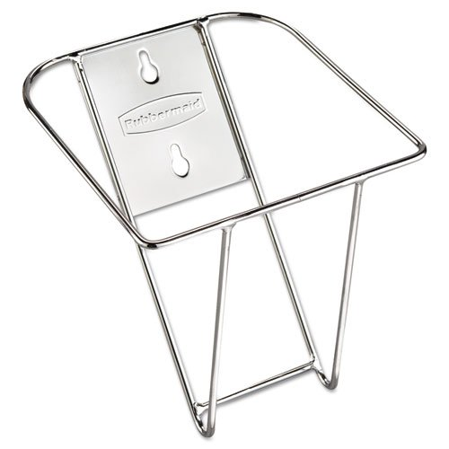 (Rubbermaid 9F43 Scoop Holder Bracket, Stainless Steel, 7 1/2w x 10d x 5 2/5d)