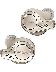Jabra Elite 65T True Wireless Bluetooth In-Ear Hoofdtelefoon (Muziek En Telefoneren, Tot 15 Uur Batterijduur Met Oplaadcase, Spraakbesturing Voor Alexa, Siri, Google Assistant) Goud/Beige