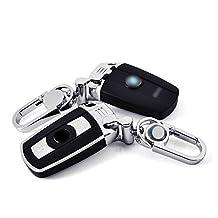 1pc Smart Key Shell Case Key Holder Cover For BMW X1 E84 Z4 2008-2015 X5 E70 2008-2013 X6 E71 2009-2014 (Black)