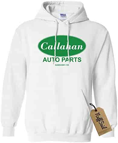 5481a77619a227 NuffSaid Callahan Auto Parts Hooded Sweatshirt Sweater Pullover - Unisex  Hoodie