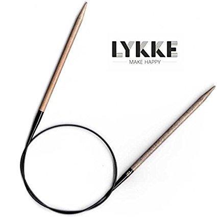 Lykke Driftwood Circular Knitting Needles 24 inch - Size 7 by Lykke