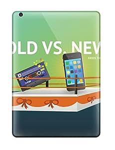 New Hard Cases Premium Ipad Air Skin Cases Covers(retro Oldvsnew)