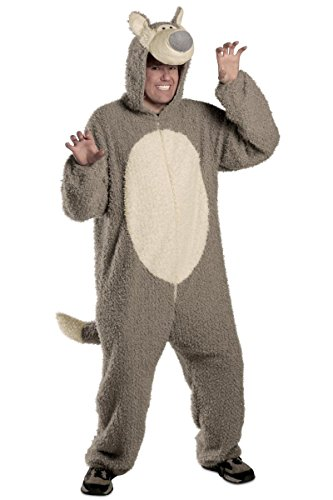 Big Bad Wolf Newborn Costume (Princess Paradise Men's Adult Big Bad Wolf, Grey, Large/X-Large)