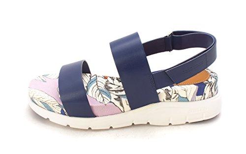 Cole Multi Haan Casual Twilight Womens Platform Open Sandrasam Toe Sandals Blue rrvxZ