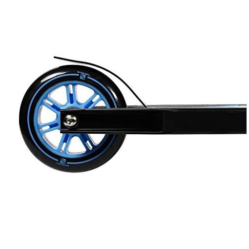 FREEGUN Storm Trottinette Freestyle Jeunesse Unisexe, Noir/Bleu, Taille Unique