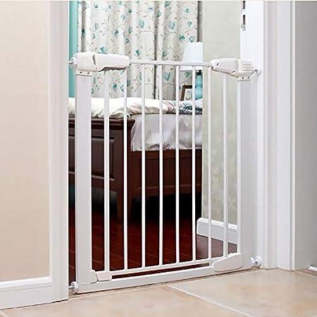 Huo Barrera de Seguridad del Bebé, Robusta Escalera Barrera, Puerta de Perro, Ninguna Perforación Extensible 100 Cm de Altura (Size : 87-92cm): Amazon.es: Hogar