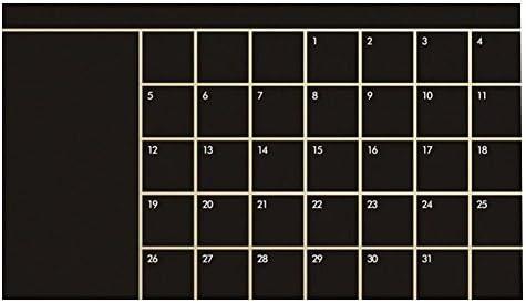Monats-Kreidetafel-Planer, Seawang This Month Kalender, Kreidetafel, abnehmbarer Planer, Wandsticker Home Decor