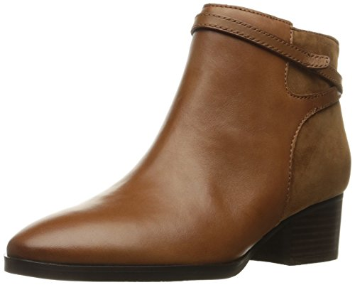 Lauren Ralph Lauren Women's Damara Ankle Bootie, Polo Tan/Snuff, 8.5 B - Outlet Ralph Lauren Womens