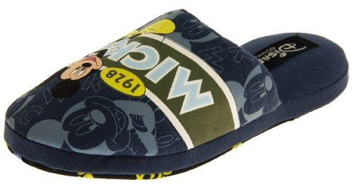 Footwear Studio Herren Pantoffeln Mickey Mouse