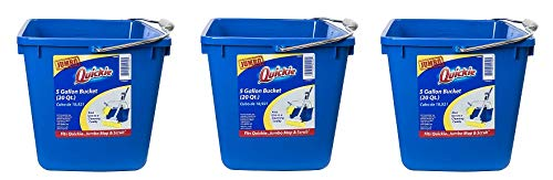 Quickie 20040-4 5-Gallon Bucket and Cleaning Caddy (3-(Pack)) by Quickie (Image #1)