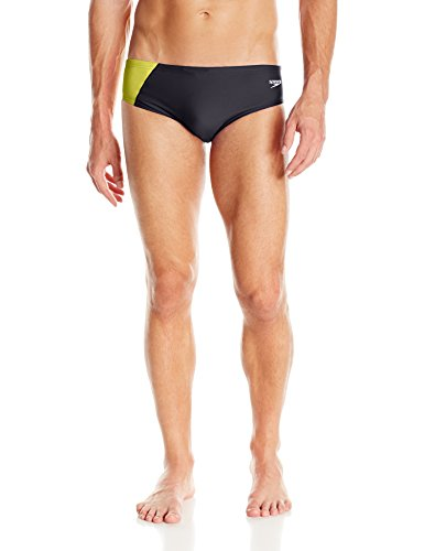 Speedo Men's PowerFLEX Eco Revolve Splice Brief Swimsuit – DiZiSports Store