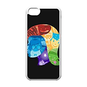 iPhone 5c Cell Phone Case White BEHIND THE SCENES Mikvz