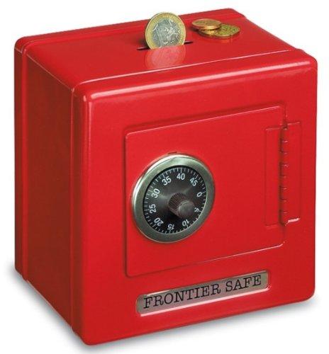 5 opinioni per Carousel toys- Salvadanaio mini cassaforte in acciaio