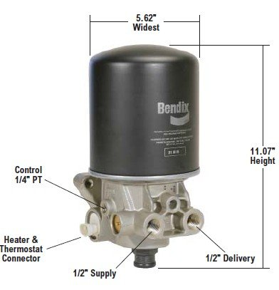Bendix 800887 AD-SP Air Dryer by Bendix