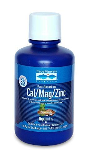 Trace Minerals Liquid Cal/Mag/Zinc