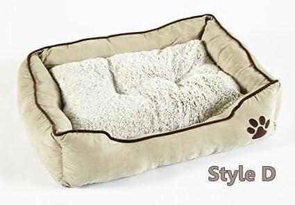 BUNNY BUSINESS - Cama para perro de piel sintética, muy suave, tamaño extra grande