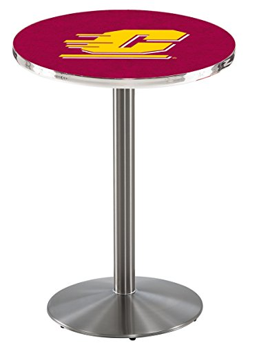 Holland Bar Stool L214S Central Michigan University Officially Licensed Pub Table, 28