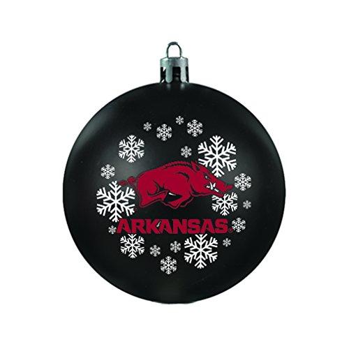 NCAA Arkansas Razorbacks Shatterproof Ornament