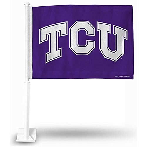 Rico Industries NCAA TCU Horned Frogs Car Flag