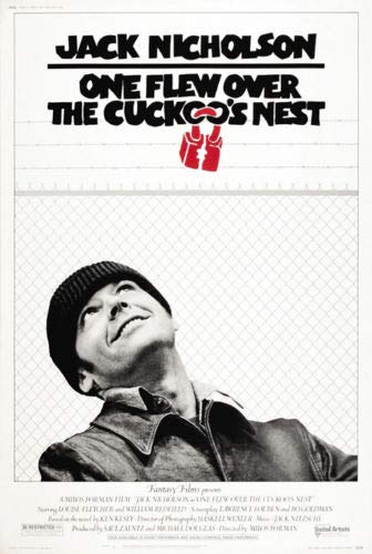 ShopForAllYou Posters & Prints ONE FLEW Over The Cuckoo's NEST - Movie Poster (Regular) (Size: 27