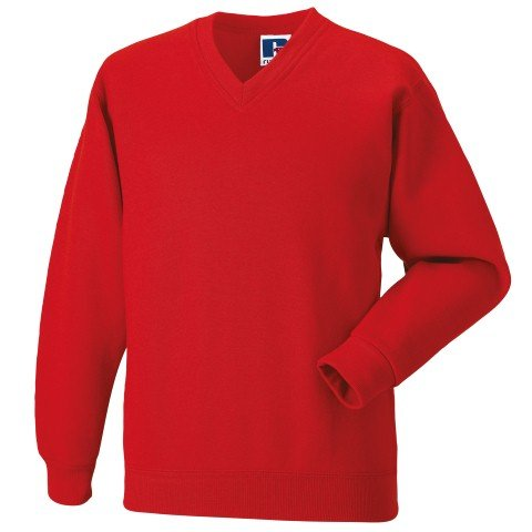 Russell Athletic V-Neck Sweatshirt - 7