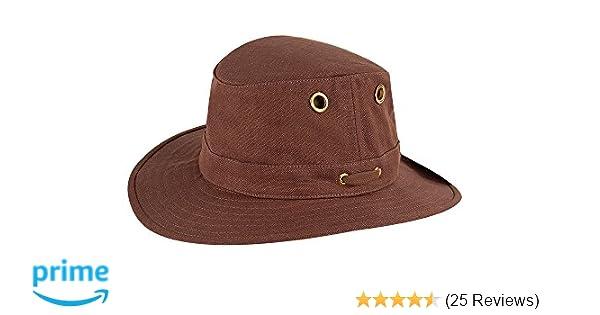 1da180e1 Tilley TH5 Hemp Hat, Mocha, 7 3/8 at Amazon Men's Clothing store: