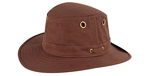 Tilley TH5 Hemp Hat, Mocha, 7 1/4 (Hemp Shopper)