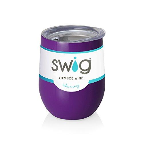 Purple Swig  Wine Tumbler -