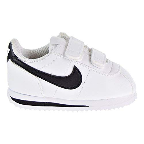 buy online 84d79 17665 Galleon - NIKE Cortez Basic SL Toddler s Shoes White Black 904769-102 (2 M  US)