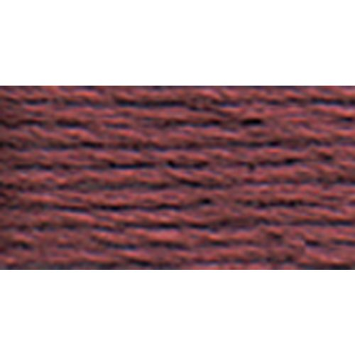 - DMC 117-315 Mouline Stranded Cotton Six Strand Embroidery Floss Thread, Dark Antique Mauve, 8.7-Yard