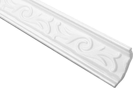 M-03 20 Meter Corner Profiles Polystyrolleisten Ceiling Trim Decor Stucco 35x35mm