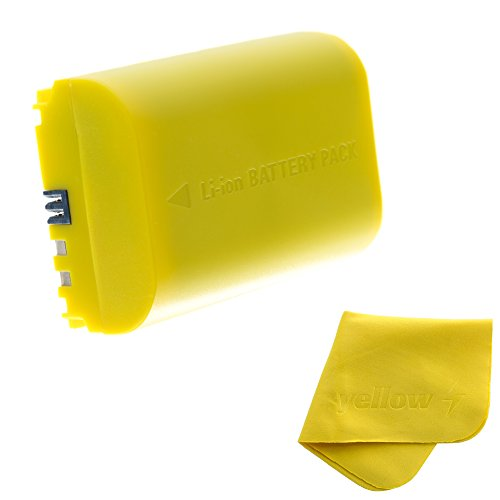 Canon LP-E6 Battery - Replacement Rechargeable Li-ion Battery for Canon 5D Mark II III,70D,5Ds & more DSLR Cameras & Battery Grips-Battery Capacity-2650 mAh & Output Voltage-7.4V by Yellow Battery