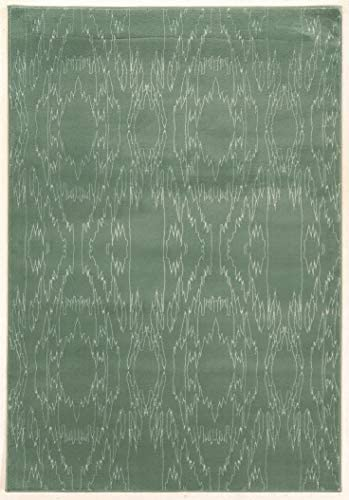 Area Rug in Aqua 10 ft. 4 in. L x 8 ft. W 51 lbs.