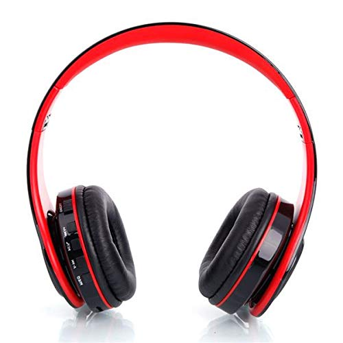 Leoneva Foldable Sport Bluetooth Over Ear Headphones Hi-Fi Stereo Wireless Headset