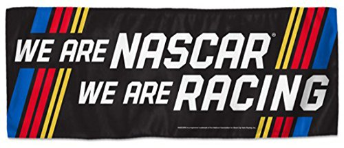 WinCraft NASCAR We Are Nascar We Are Racing 12 x 30 Inch 2 Sided Cooling Towel